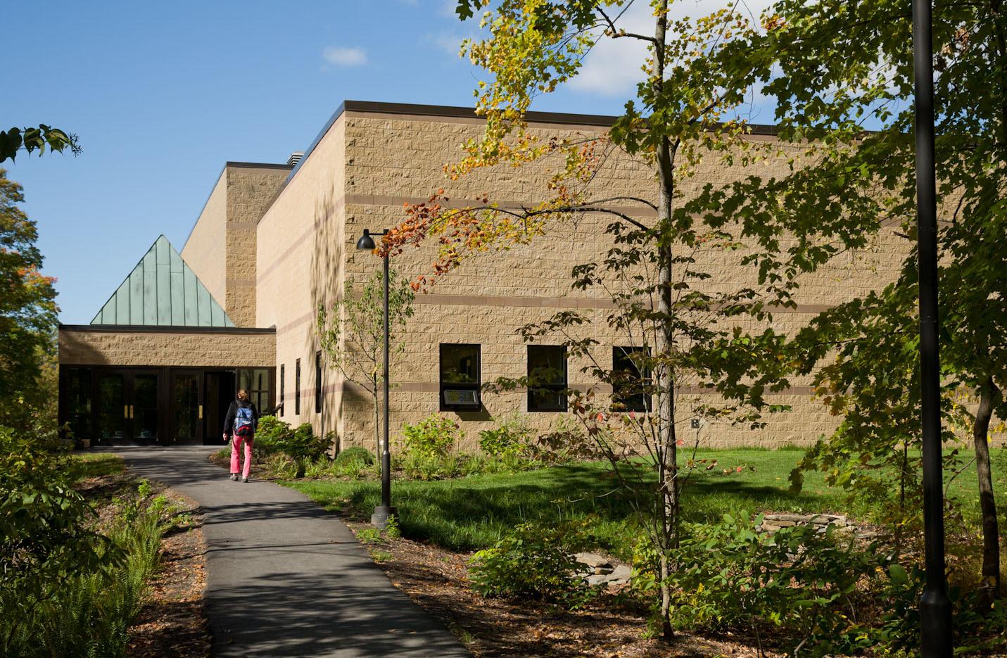 Stevenson Gymnasium --