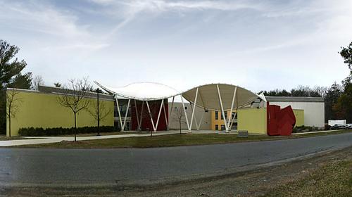 The Milton and Sally Avery Arts Center --