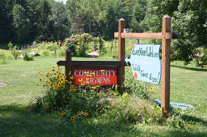 The Community Garden --