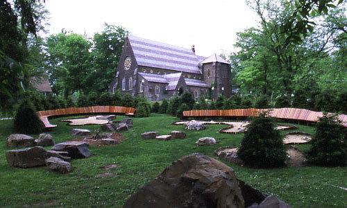 The Anna Jones Meditation Garden --