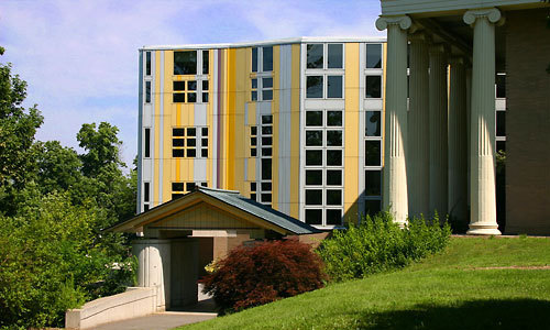 The Charles P. Stevenson Library --