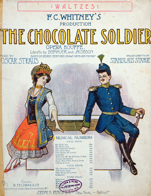 [The Chocolate Soldier]