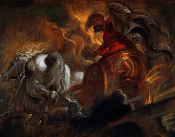 [Mendelssohn's Elijah] Elijah, Peter Paul Rubens, n.d. ©Burstein Collection/CORBIS