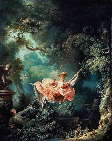 [An Opera Double Bill] The Swing, Jean-Honor� Fragonard, 1767. Reproduced by kind permission of the Trustees of the Wallace Collection, London.