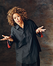 [An Evening with Anna Deavere Smith] Photo by Mary Ellen Mark