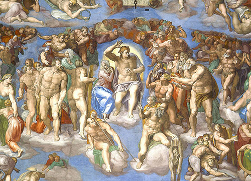 [Messa da Requiem By Giuseppe Verdi] The Last Judgement by Michelangelo