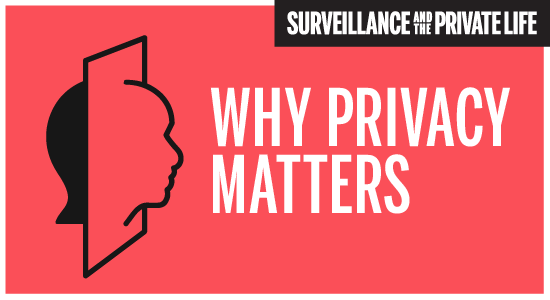 [Why Privacy Matters]