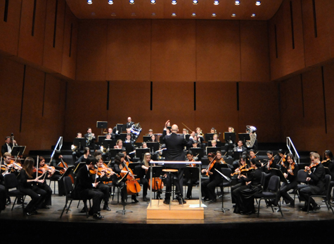 [Bard College Conservatory Orchestra] Photo: Karl Rabbe