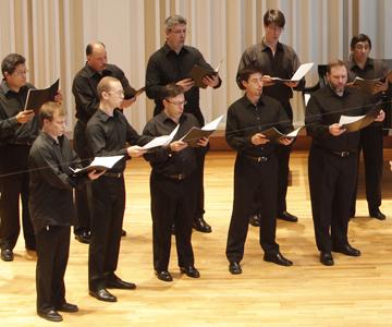 [Program NineItalian Choral Music since Palestrina] Photo by Cory Weaver
