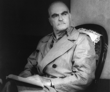 [The Skin of Our Teeth] Thornton Wilder, photo by Carl Van Vechten