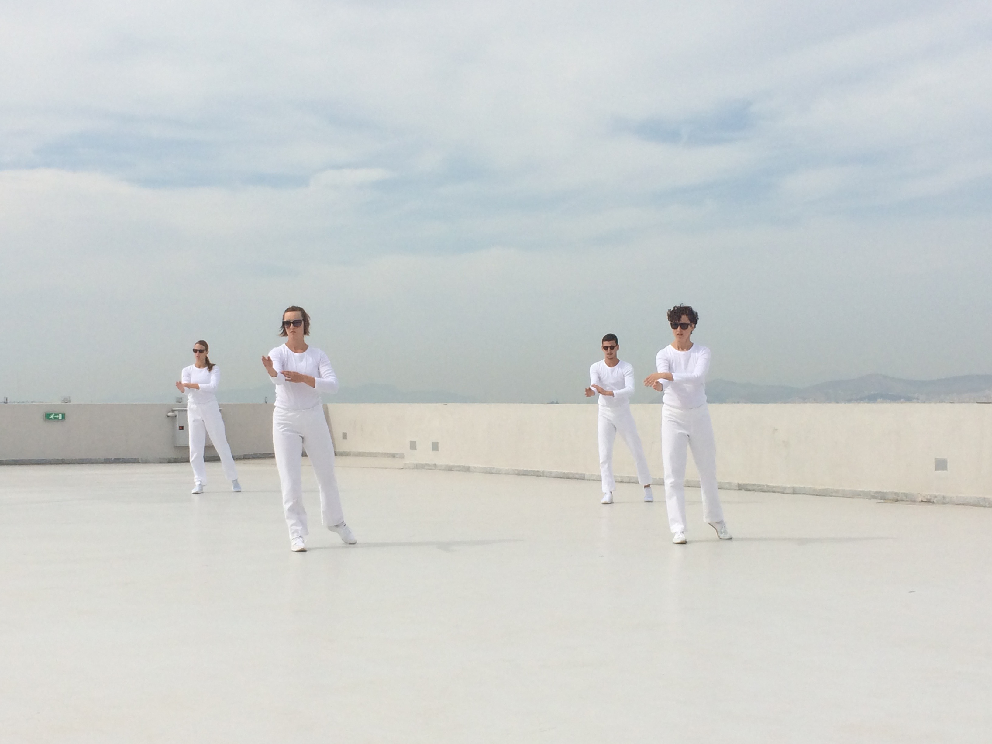[Trisha Brown Dance CompanyResidency Showing] Andreas Simpoulos