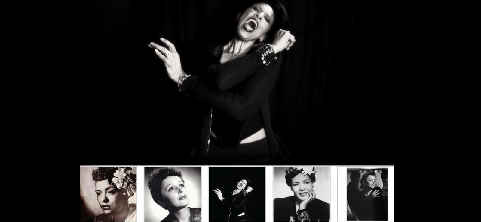 [Nona Hendryx presentsParallel Lives: Billie Holiday & Edith Piaf ] Photo by Marc Baptiste