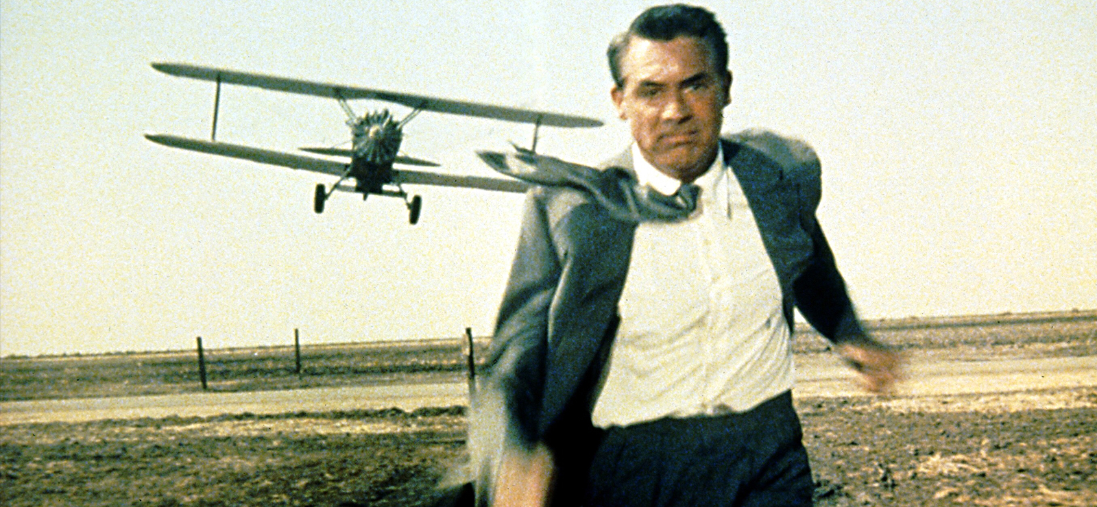 [Outdoor Film ScreeningAlfred Hitchcock'sNorth by Northwest] Cary Grant in North by Northwest (1959); MGM/Photofest