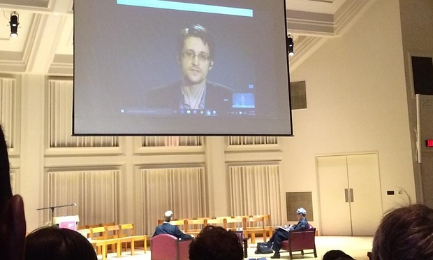[Edward Snowden: Clinton made 'false claim' about whistleblower protection]