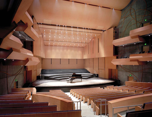 Fisher Center for the Performing Arts; Photo: Peter Aaron '68/Esto