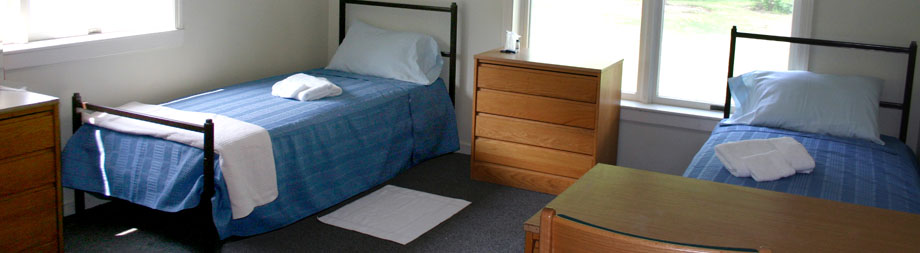 All rooms come equipped with one or two beds, a closet or wardrobe, and a desk for each student. The Villages also offer suite-style rooms with singles and doubles.