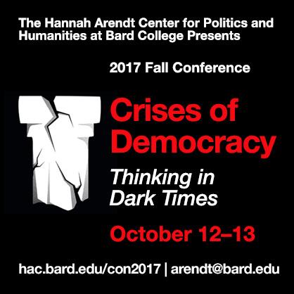 Arendt Center 2017 Conference