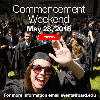Image for Bard Commencement on May 28, 2016