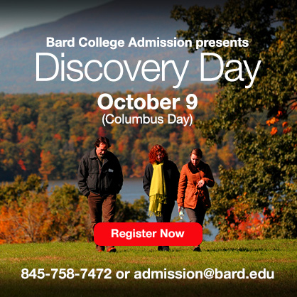 Bard College Admission Discovery Day, October 9, 2017.