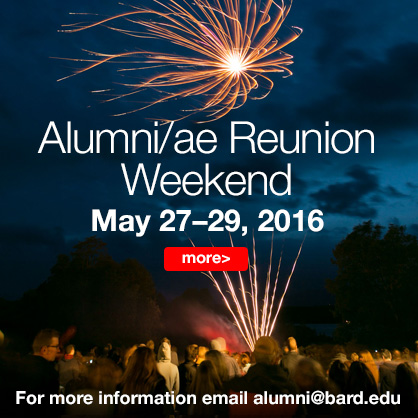 Image for Bard Alumni/ae Reunion Weekend May 27–29, 2016