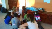 Student volunteers with EnVía in Oaxaca - Carly and Olivia
