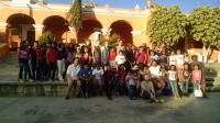 Student volunteers with EnVía in Oaxaca - Group