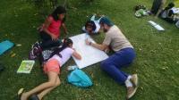 Student volunteers with EnVía in Oaxaca - Luke