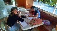 Student volunteers with EnVía in Oaxaca - Sofia