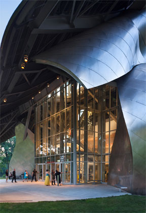 Richard B. Fisher Center for the Performing Arts; Photo: Peter Aaron '68/Esto
