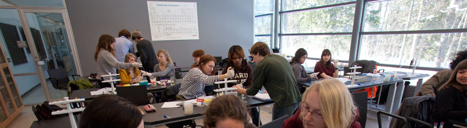 First-year students in the Citizen Science program come to understand the impact of science and mathematics on everyday life, regardless of their chosen major.