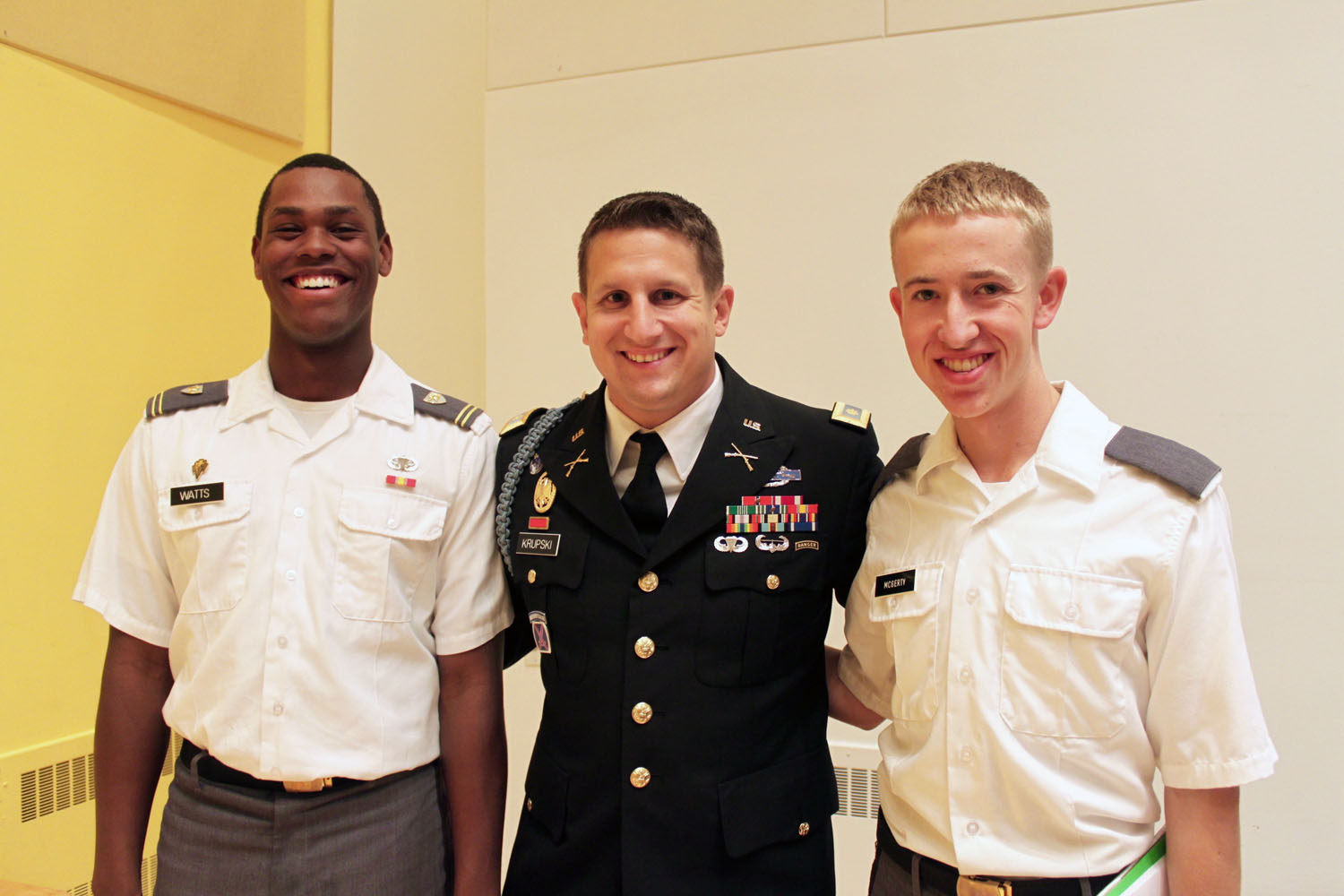 West Point visits Bard College for public debate