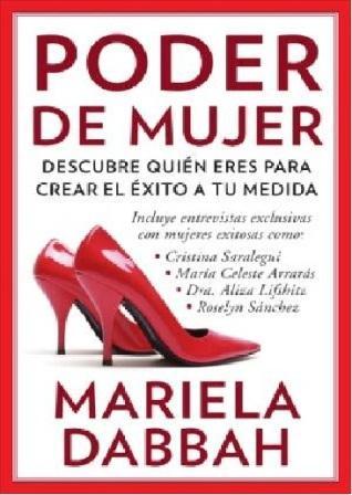 Tapa del libro Poder de Mujer de Mariela Dabbah.