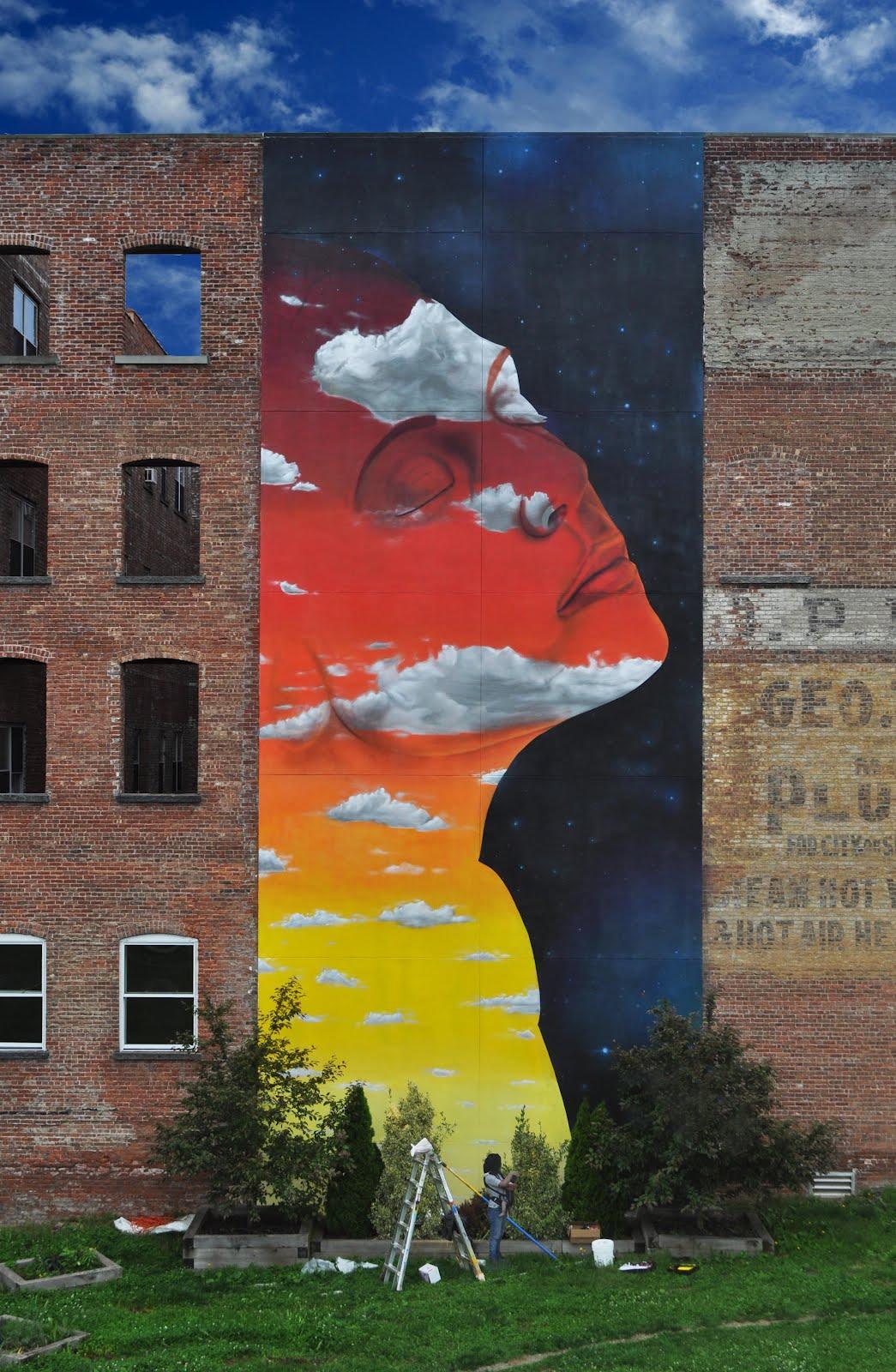 Mural Terminado por Dasic Fernández