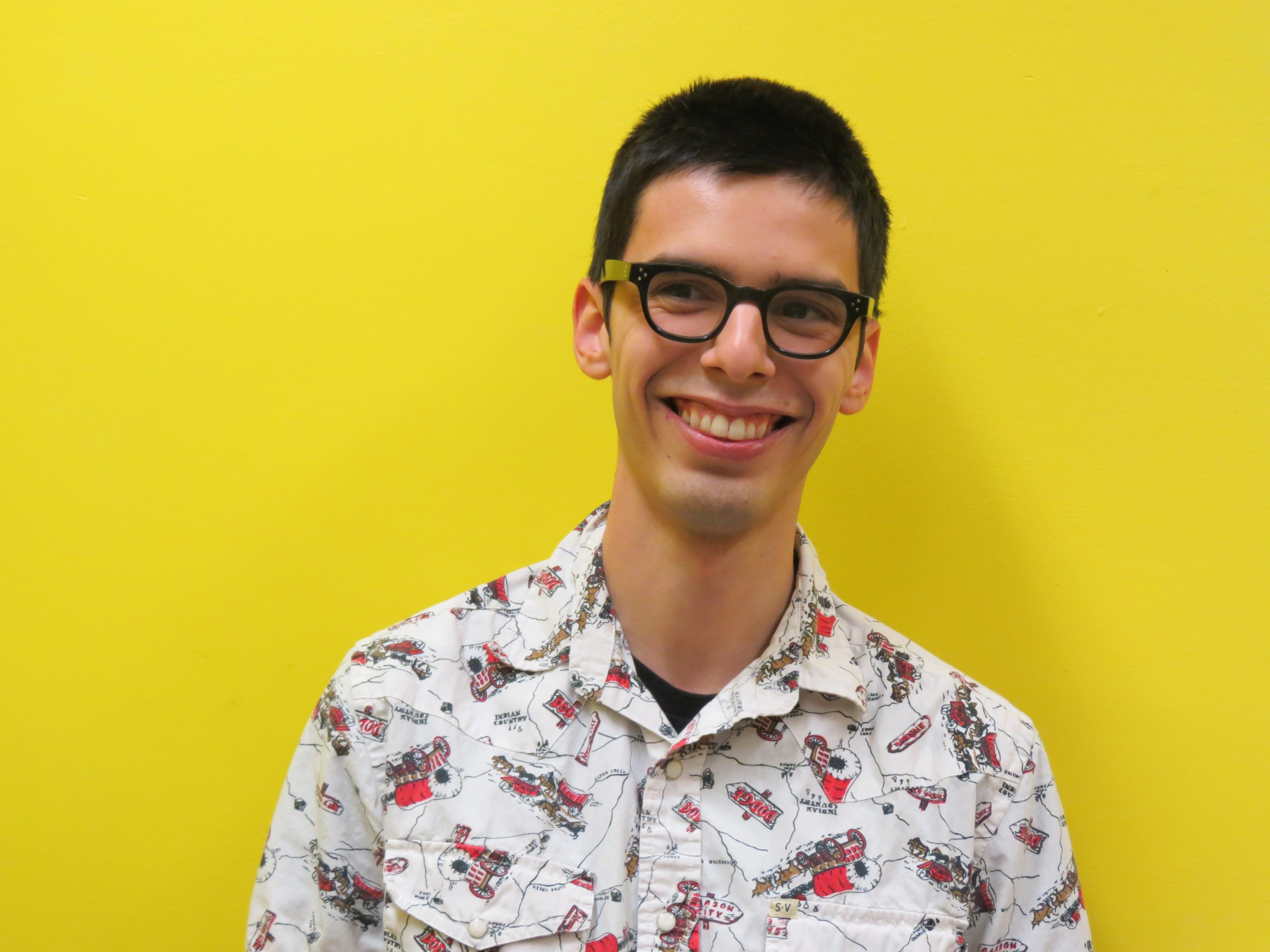 El contribuidor de La Voz y estudiante de Bard College, Kevin Soto. Foto de Andrés Martínez de Velasco