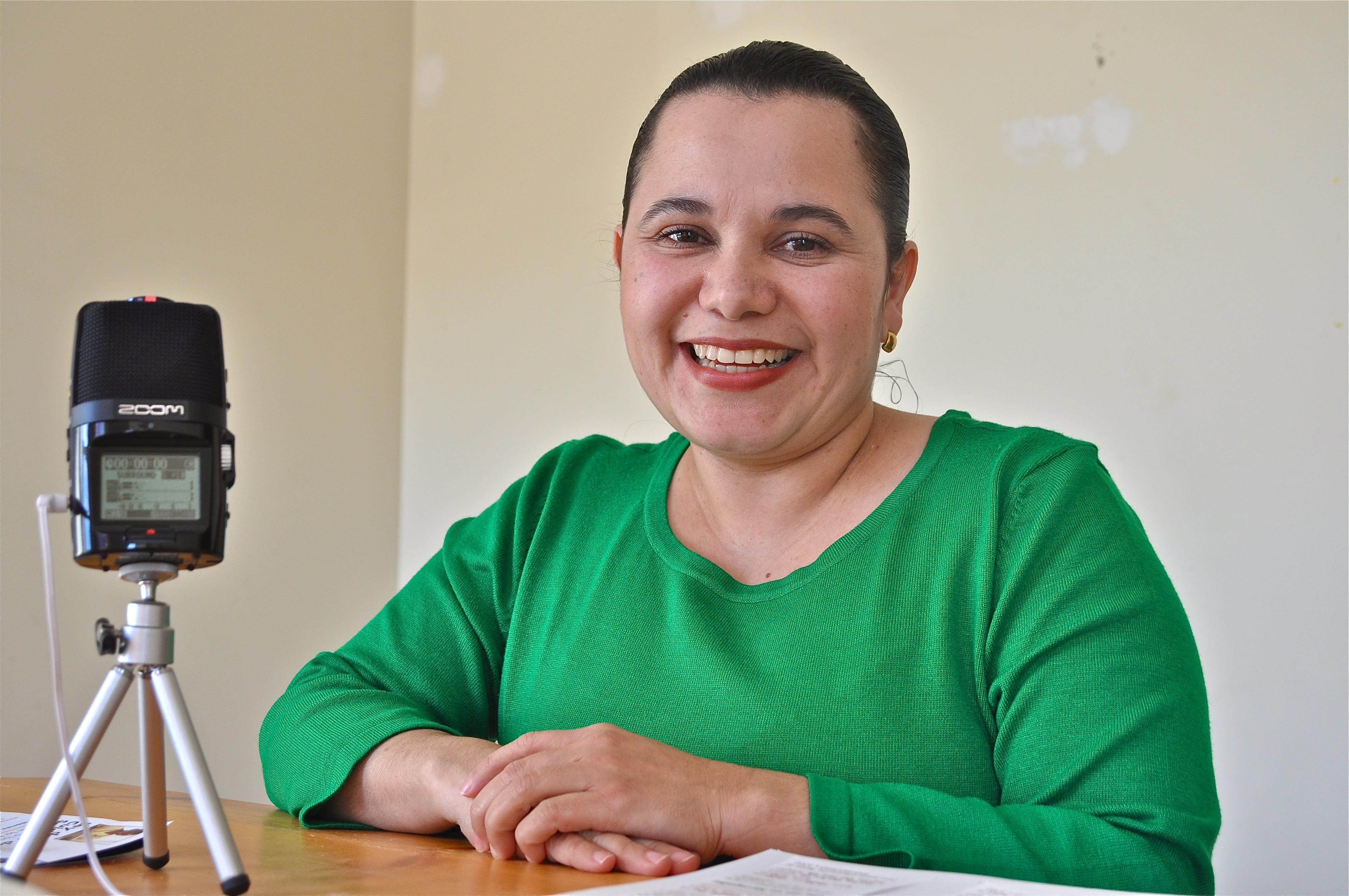 Elva Margarita Corbatón. Foto de Antonio Flores-Lobos
