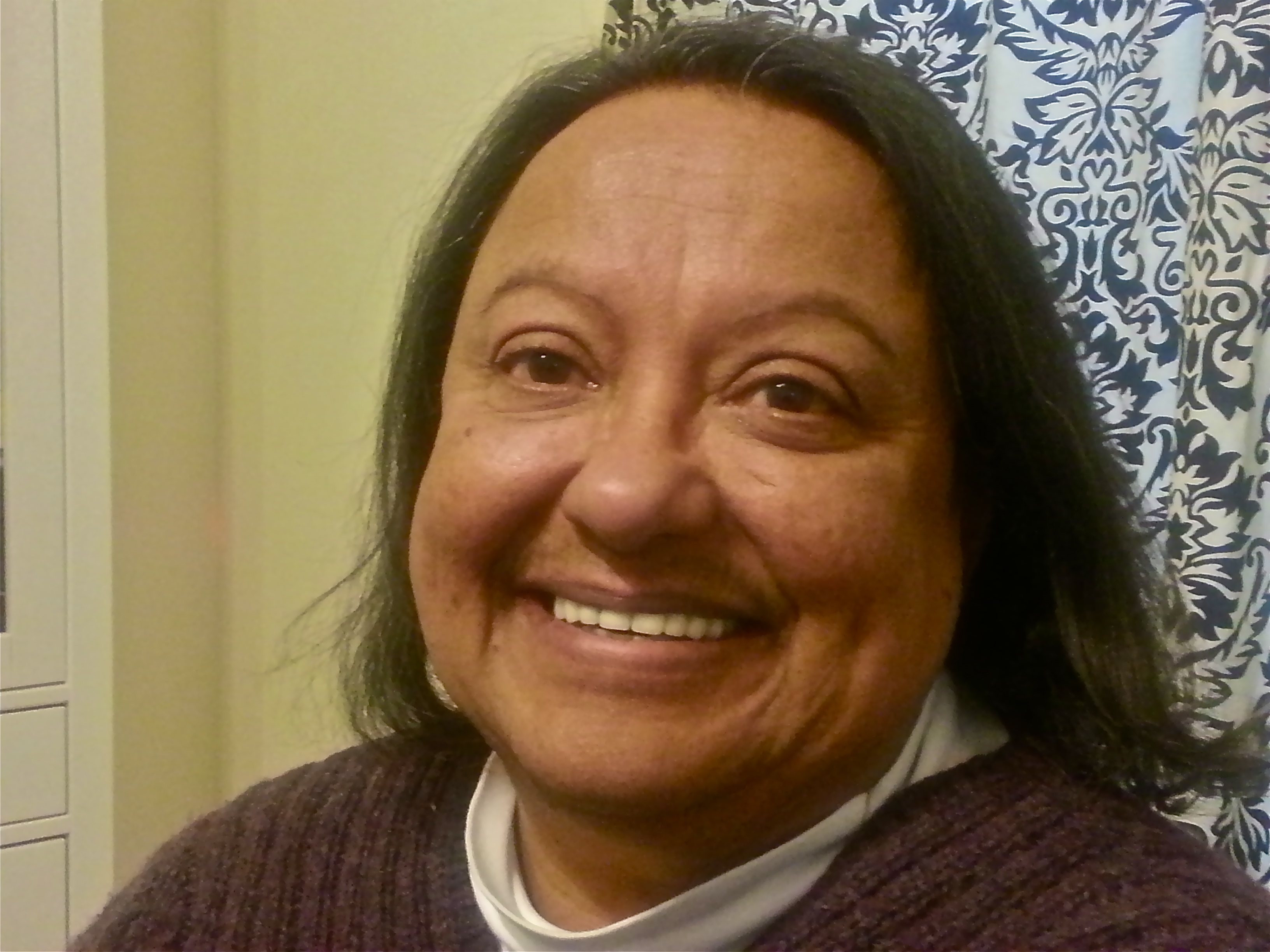 Evelyn Elizabeth Garzetta. Foto de Antonio Flores-Lobos
