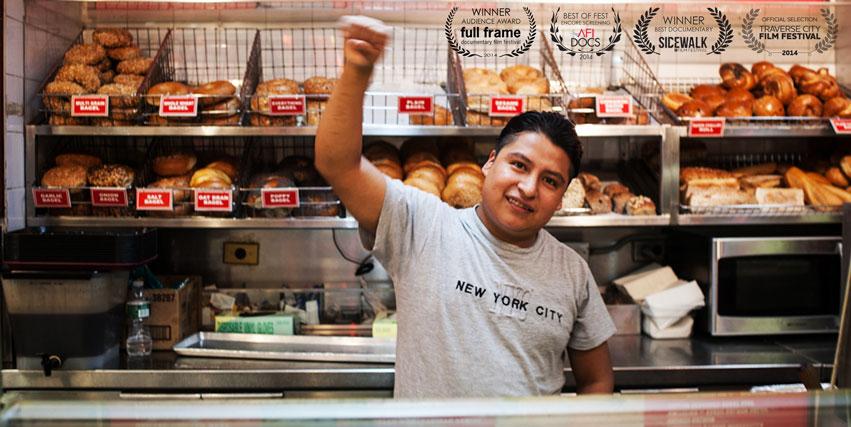 Mahoma López, protagonista del documental La mano que da de comer.