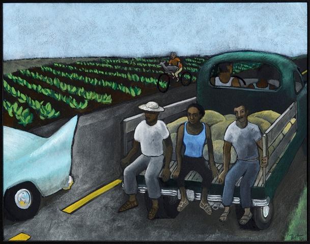 La troca, por la artista Tona Wilson.