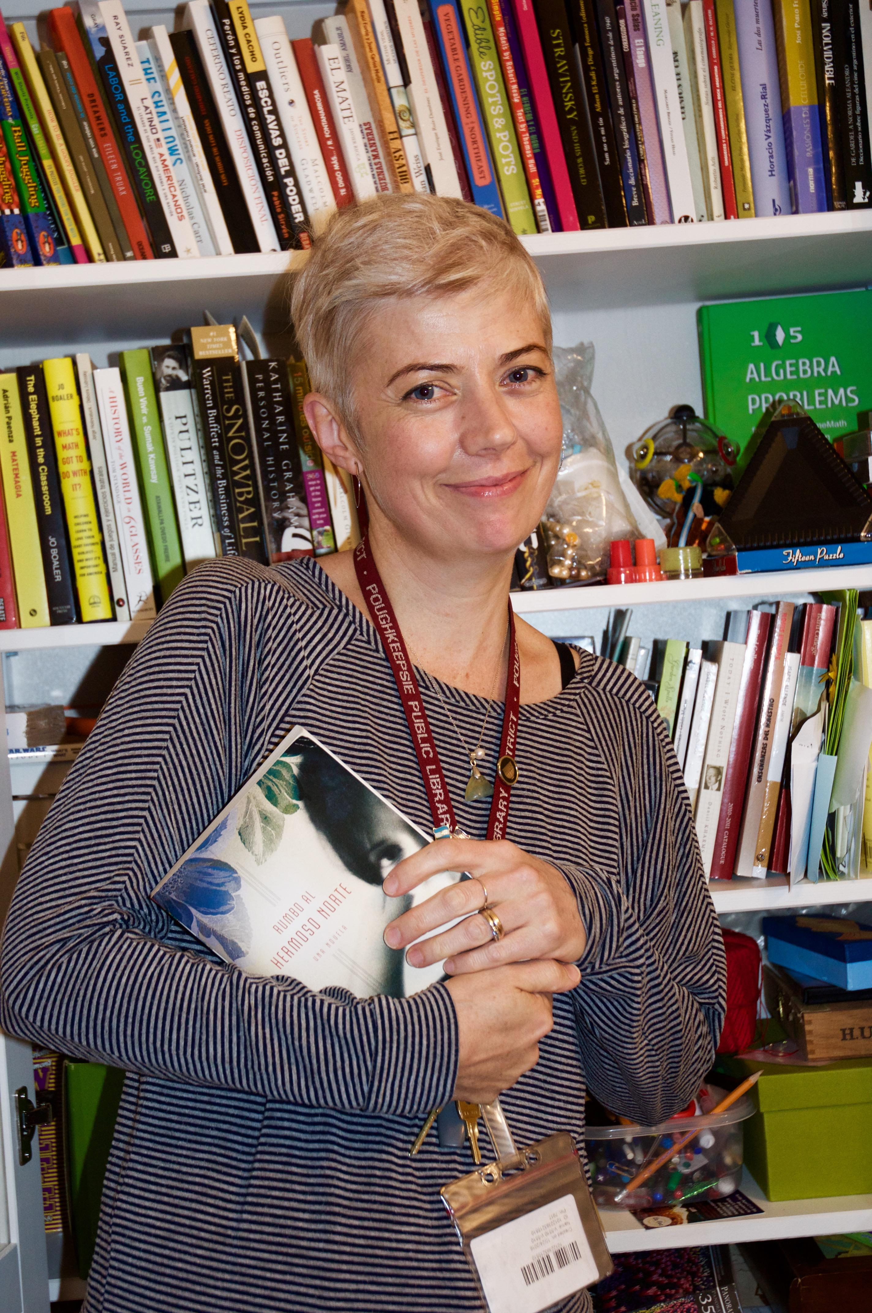 Sandra Priore, fotografía de Antonio Flores-Lobos
