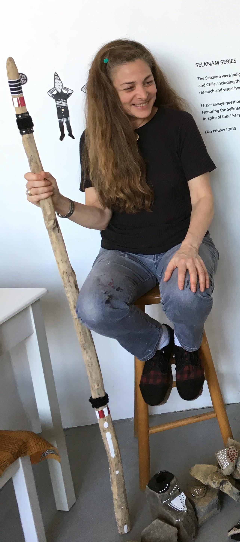 Elisa Pritzker y el espíritu de los Selknam