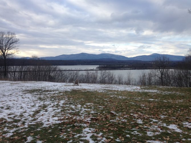 <em>View of the Hudson River during the winter, photo by Natalie Schuman.&nbsp;</em>