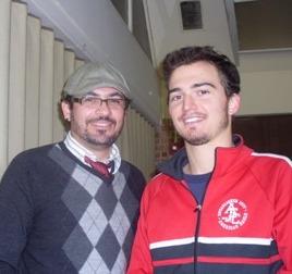 Roberto Vélez y Rodrigo Montealegre