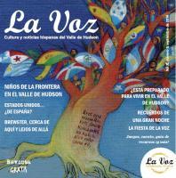 Imagen de la portada de La Voz de septiembre 2014. Ilustración de la artista Cristina Brusca.