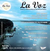 Imagen de la portada de La Voz de noviembre 2014, por la artista Elisa Pritzker