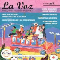 Imagen de la tapa de La Voz mayo 2015, a cargo de la artista Melanie Hall
