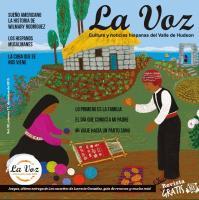 Portada de La Voz de diciembre 2015, ilustración de la artista Merceded Cecilia