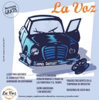 Imagen de la portada de La Voz abril 2017 por Rick Jones