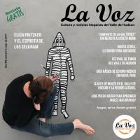 Imagen de la portada de La Voz de mayo, foto de Enrique Rob Lunski