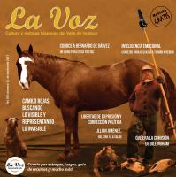 Imagen de la portada de La Voz de diciembre 2017 a cargo del artista venezolano Camilo Rojas